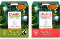 Compostable Coffee Capsules - Dualit Now Sells Its Single-Origin Coffee in Compostable Pods