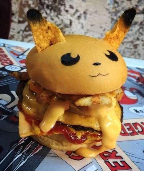 Anime Monster Burgers