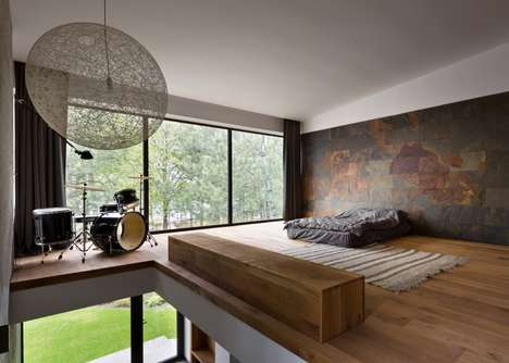 Nature-Embracing Homes - This Ukrainian Home Integrates Green Surroundings Into Its Aesthetic