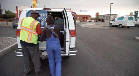 Homeless-Employing Vans