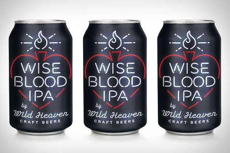 Neon Sign Beer Branding