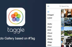 Decluttering Gallery Apps - The Taggle Platform Lets Mobile Users Organize Their Digital Photos