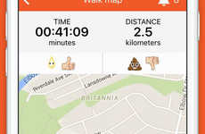 Accommodating Dog Walker Apps - The Spot App Helps You Hire Dog Walkers For an Hourly Rate