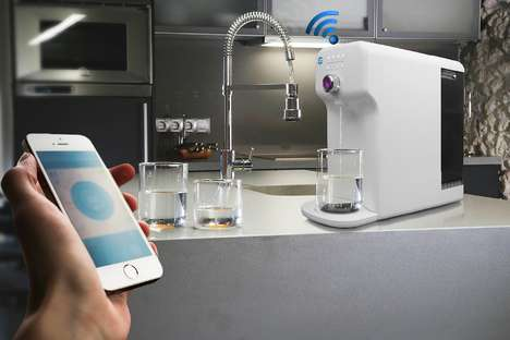 Smart Filtration Appliances - The Aquaautomat Provides a Digital Way to Track Water Cleanliness