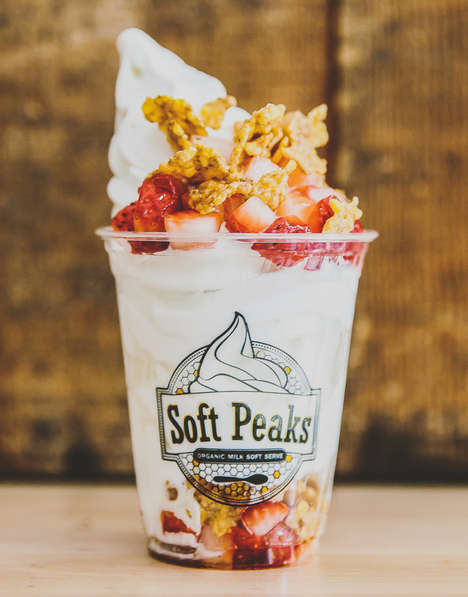 Cereal-Topped Ice Creams