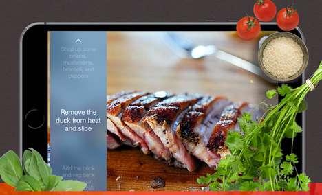 Talkative Recipe Apps