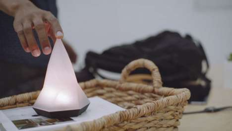 Habit-Forming Smart Lamps - The 'Peak' Smart Lamp Encourages People to Continue Good Habits