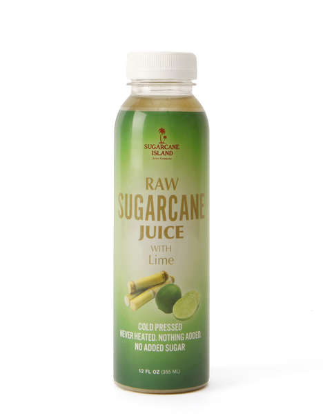 Citrusy Sugarcane Drinks - Sugarcane Island Blends Its Sugarcane Juice with Lime