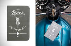 Riding Log Notebooks - 'The Rider Journal' Provides An Analogue Way to Document Bike Trips