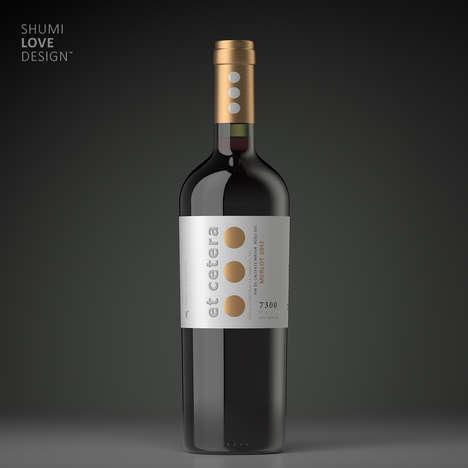 Punctuated Wine Branding