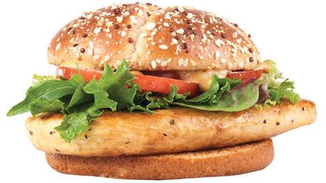 Low-Calorie Chicken Burgers