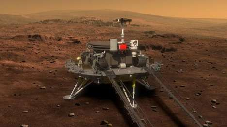 Chinese Mars Rovers - China's Mars Rover Will Land on the Red Planet in the Summer of 2020