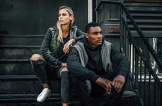 Urban Denim Editorials - American Eagle Jeans are at the Focus of the Brand's NYC-Centered Lookbook