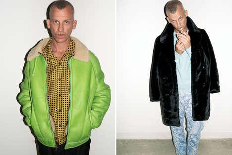 Rebel-Modeled Menswear