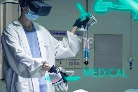 Mechanical Exoskeleton Gloves