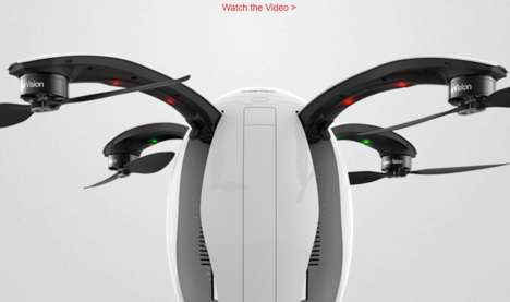 Egg-Shaped Camera Drones