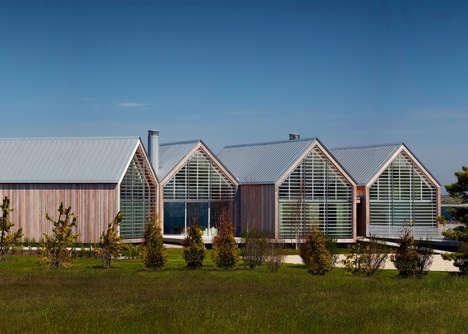 Barn-Inspired Ocean Houses