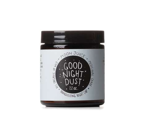 Edible Sleep Aid Powders - The 'Moon Dust' Offers Soothing Crushed Herbs to Help Induce Slumber