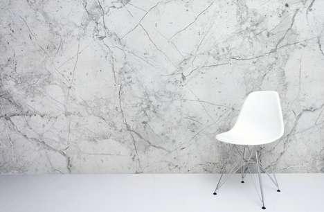 Imitation Marble Wallpaper