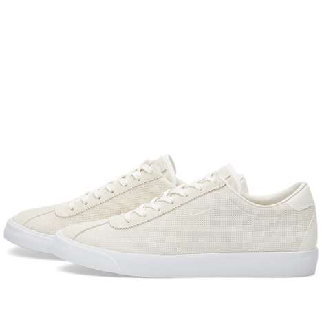 Perforated Suede Shoes - Nike's Newest Tennis-Inspired Shoes are Sophisticated and Elegant
