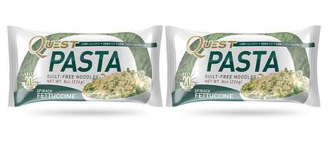 Carb-Free Pastas - The Quest Pasta Noodles are Gluten-Free Without Any Carbohydrates