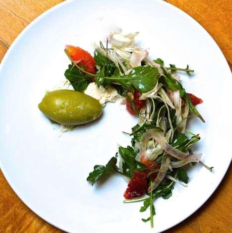 Fennel Sorbet Salads