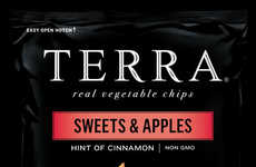 Apple Potato Chips - These TERRA Chips Feature a Sweet Blend of Apples and Potatoes