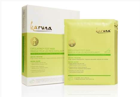 Exfoliating Foot Masks - Karuna's Slip-On Foot Masks Soften and Revive Rough Skin