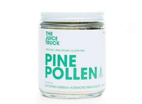 Corrective Hormone Pollens - The Pine Pollen Powder by The Juice Truck Helps to Combat Imbalances