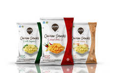 Organic Quinoa Chips - These Healthy Snacks are Made from a Popular Superfood