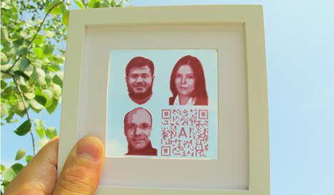 Energy-Producing Solar Ink - Using Photovoltaic Cells, This Ink Allows Images to Generate Energy