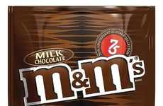 Designer Chocolate Branding - M&M's Celebrates Its 75th Anniversary with New Packaging