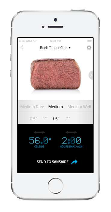 WiFi Sous-Vide Cookers - The Sansaire Delta Allows For Precise App-Controlled Cooking