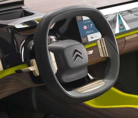 Futuristic Hybrid Car Concepts