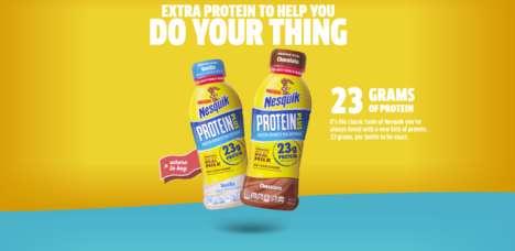 Protein-Rich Milk Products