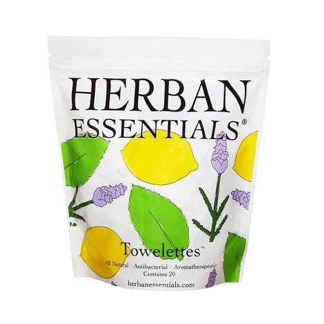 All-Natural Aromatherapy Wipes