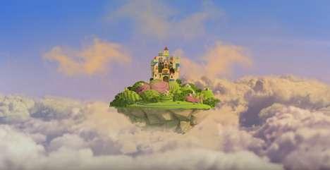 Enchanting Theme Park Ads