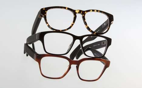 Chic Activity-Tracking Glasses