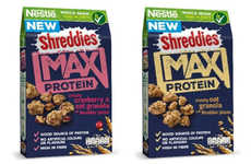 High-Protein Granolas - Nestlé's New Shreddies Max Cereal Serves as a Good Source of Protein