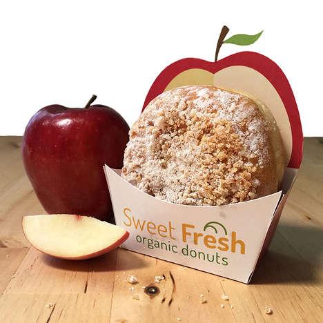 Ingredient-Inspired Donut Branding