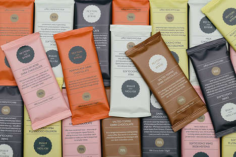 Color-Coordinated Chocolate Packaging