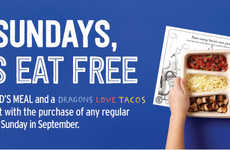 Complimentary Kids Meals - Chipotle is Now Letting Kids Eat Free Every Sunday