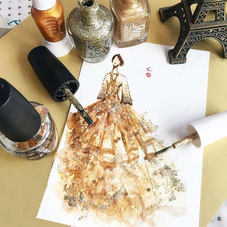 Beauty Polish Paintings