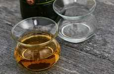 Experience-Enhancing Liquor Glasses - The NEAT Cups Are Shaped To Prevent Nose Burning When Sipping