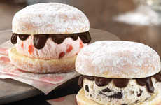 Donut Ice Cream Sandwiches - Baskin-Robbins is Offering Customizable Ice Cream Sandwiches