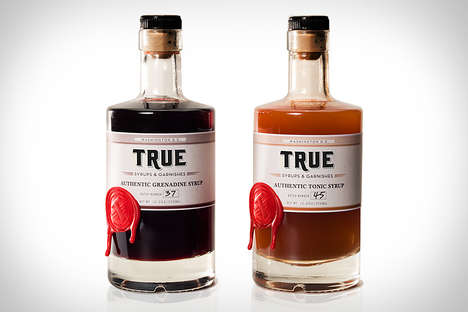 All-Natural Cocktail Syrups