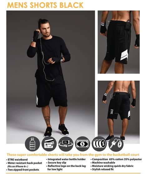 Multi-Functional Sports Clothing