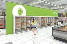Graphic Frozen Food Aisles
