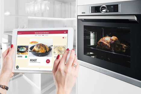 App-Connected Ovens - The Bosh Home Connect Oven Uses Drop Scales Platform To Make Cooking Easy