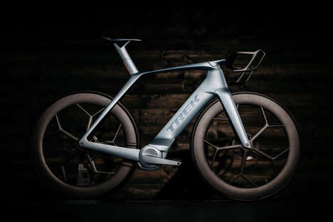 The Trek Zora Concept Bicycle Boasts a Futuristic Make With Disk Brakes